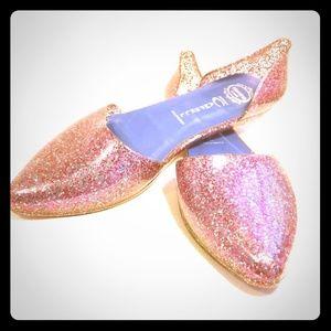 Jeffery Campell Glitter D'Orsay Glitter Jellies